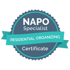 NAPO Specialist Residential Organizing