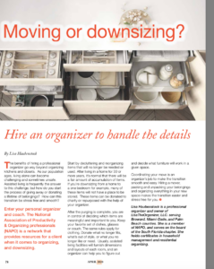 MOVING or DOWNSIZING?